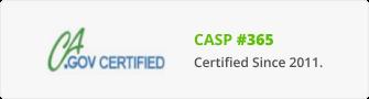 Certified Access Specialist - Certificate CASp-365